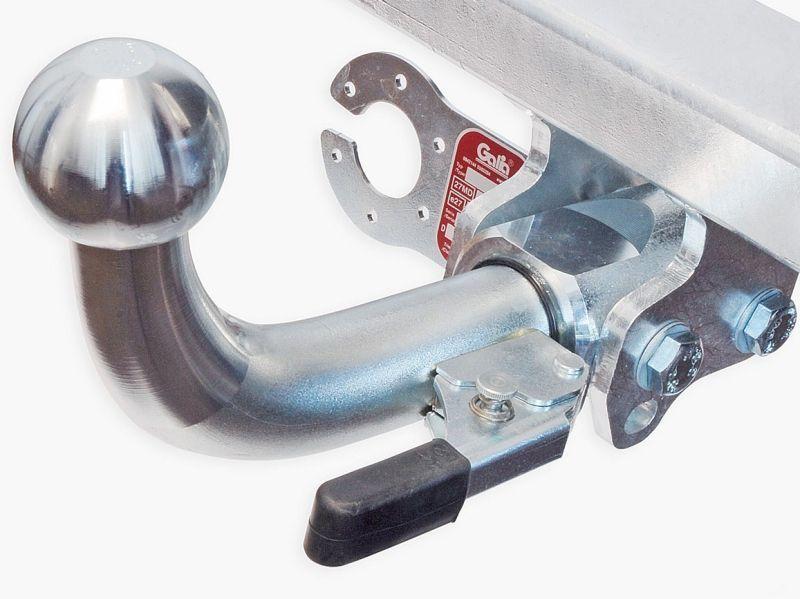 Tažné zařízení Fiat Fiorino 2008- , odnímatelný bajonet, Galia