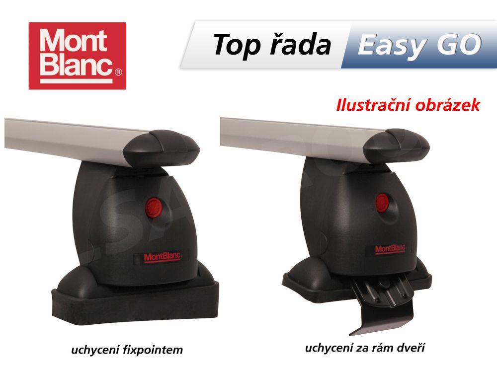 Strešný nosič Fiat punto evo / grande punto 5dv. alu
