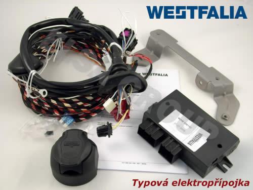Typová elektroinštalácia Volkswagen polo hb 2014- (6r), 7pin, westfalia