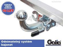 Tažné zařízení Fiat Freemont 2012/08- , odnímatelný bajonet, Galia