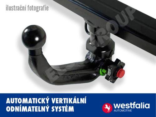 Tažné zařízení Westfalia - Vertikální automat