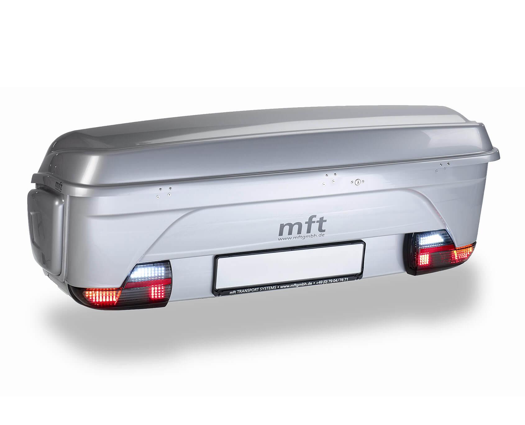 Box MFT BackBox, šedý - na tažné zařízení