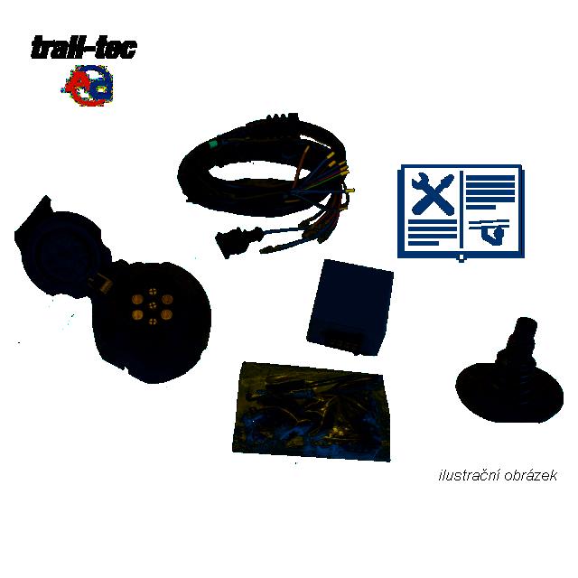 Typová elektroinštalácia Ford galaxy 2015- , 7pin, ac
