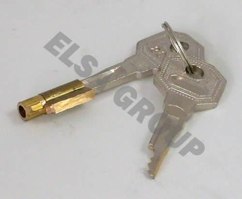 Náhradné kľúč (2ks) s bronzovou vložkou pre brinkmatic classic (bmc)