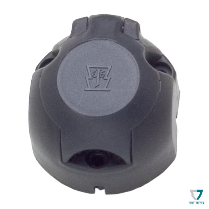 Zásuvka 7+1pin (DIN) IP44 s odpojením mlh. světla, Erich Jaeger
