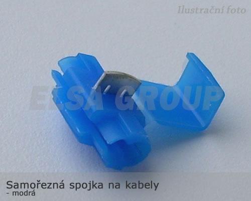 ND Samořezná spojka na kabely modrá - ITC