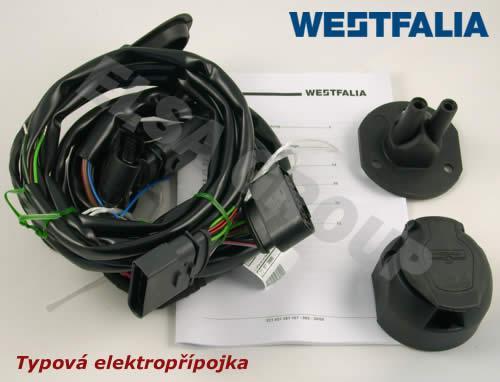 Typová elektroinštalácia VW Transporter/multivan 2003-2009 (t5) , 13pin, westfalia