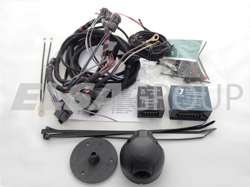 Typová elektropřípojka Hyundai ix35 2010-2015, 7pin, Erich Jaeger
