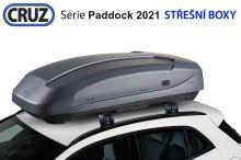Střešní box CRUZ Paddock 470GM, matná šedá