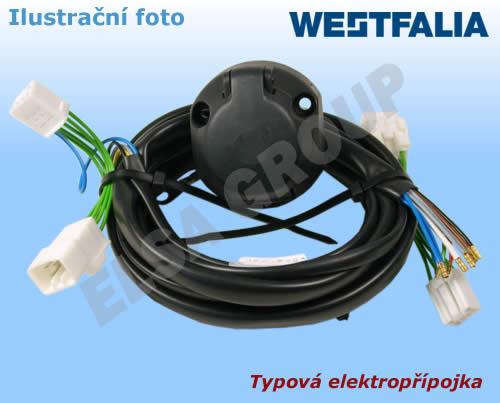 Typová elektroinštalácia Ford focus kombi 2005-2011, 7pin, westfalia