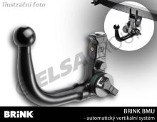Tažné zařízení Ford Fiesta 2008/10-2012/12 , vertikální, BRINK