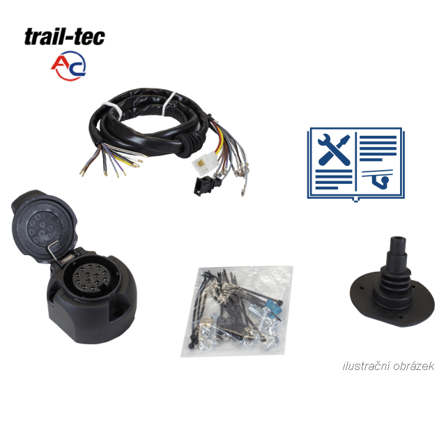 Typová elektropřípojka Citroen Jumpy 2007-2016 , 13pin, AC