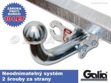 Tažné zařízení Fiat Doblo skříň s CNG/LPG 2010-2018 (II), pevné, Galia