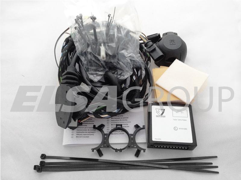 Typová elektroinštalácia VW polo hb 2009-2014 (6r), 7pin, erich jaeger