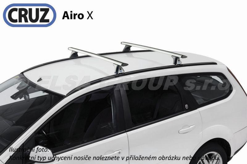 Střešní nosič Opel Zafira MPV (B, s integrovanými podélníky), CRUZ Airo ALU