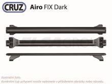 Střešní nosič Opel Zafira 5d MPV 05-07 (integrované podélníky), CRUZ Airo FIX Dark