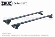 Střešní nosič Opel Zafira 5d MPV 05-07 (integrované podélníky), CRUZ S-FIX