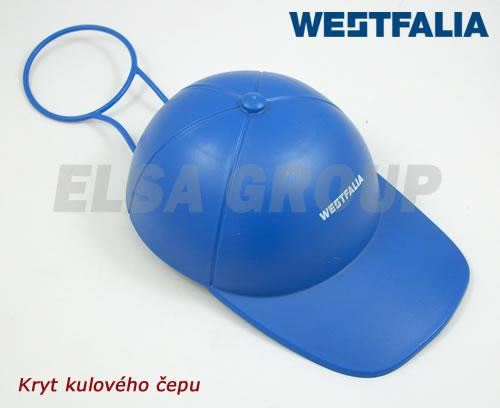 Kryt kulového čepu WESTFALIA modrá kšiltovka