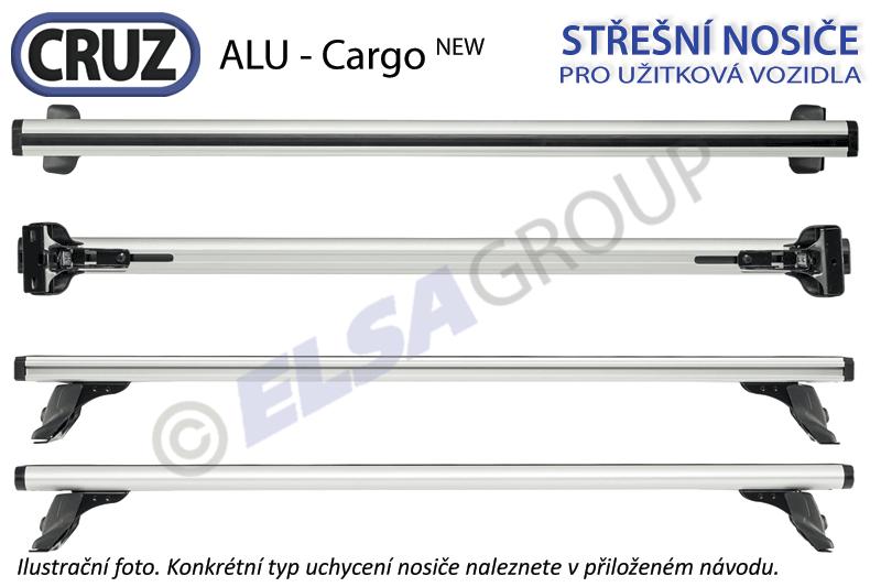 Střešní nosič Tata Xenon 07-, CRUZ ALU Cargo