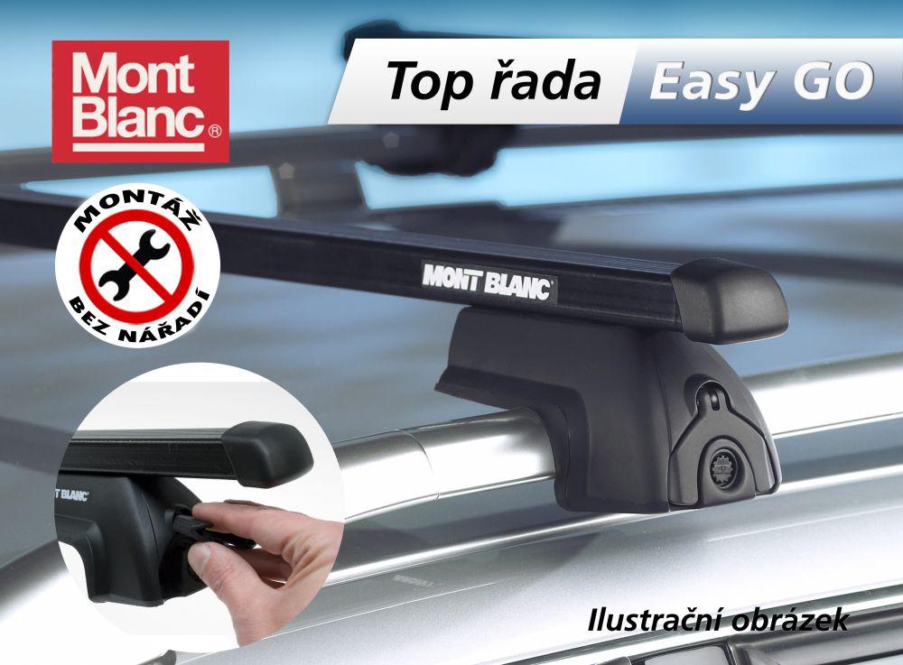Střešní nosič Fiat Panda 5dv. na integrované podélníky