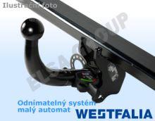 Tažné zařízení Renault Megane kombi 2012- (III), odnímatelný bajonet, Westfalia