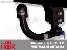 Tažné zařízení Audi A4 Avant (kombi) 2008-2015 (B8), vertikální, HOOK