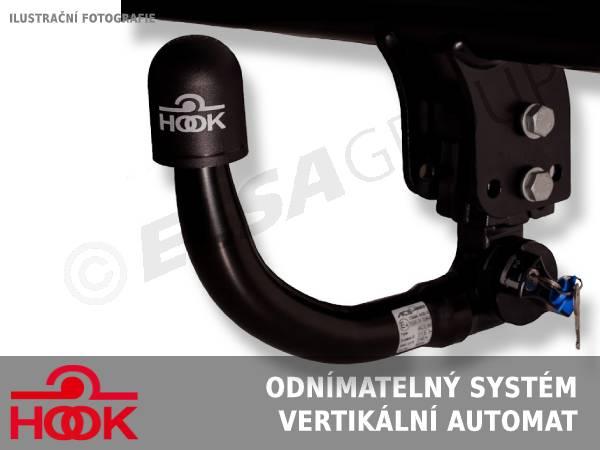 Tažné zařízení Audi A6 sedan 2011-2018 (2WD/4WD), vertikální, HOOK