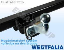 Tažné zařízení Fiat Doblo skříň 2010-2018/10 (II), příruba 2š, Westfalia