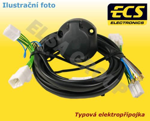 Typová elektropřípojka Volkswagen Tiguan 2016/05- , 7pin, ECS