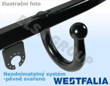Tažné zařízení Ford Fusion 2002/09-2005/10 , pevný čep svařený, Westfalia
