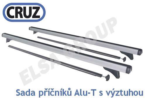 Střešní nosič Citroen ZX sedan 5 dv., CRUZ ALU