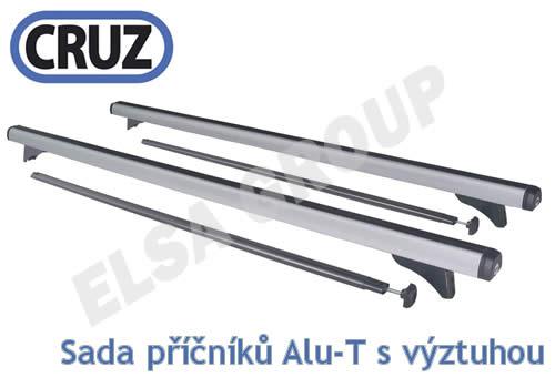Střešní nosič Peugeot 106 3 dv., CRUZ ALU
