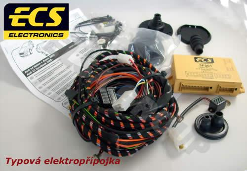 Typová elektropřípojka Kia Sorento 2009-2012 (XM) , 7pin, ECS