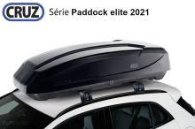 Střešní box CRUZ Paddock elite 470N, lesklá černá