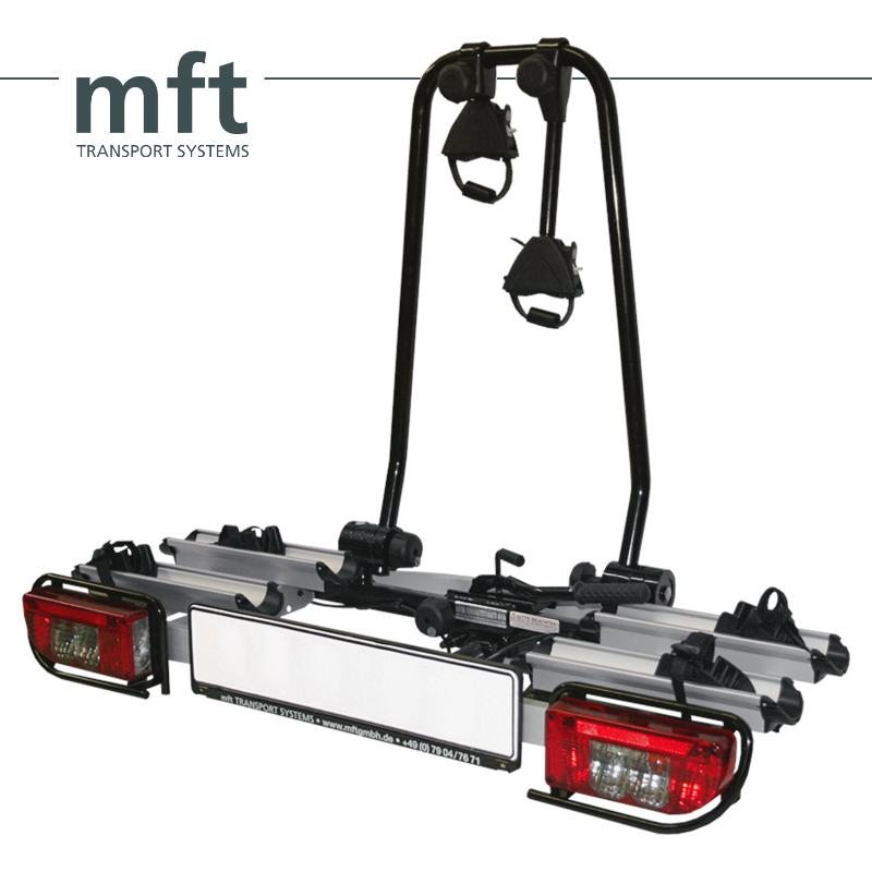 Nosič kol MFT Aluline - 2 kola, na tažné zařízení