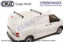 Střešní nosič VW Transporter T5/T6 / Multivan, CRUZ Cargo (2 příčníky 35x35)