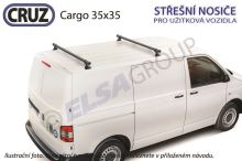 Střešní nosič VW Transporter T5/T6 / Multivan s T-drážkou, CRUZ Cargo (2 příčníky 35x35)