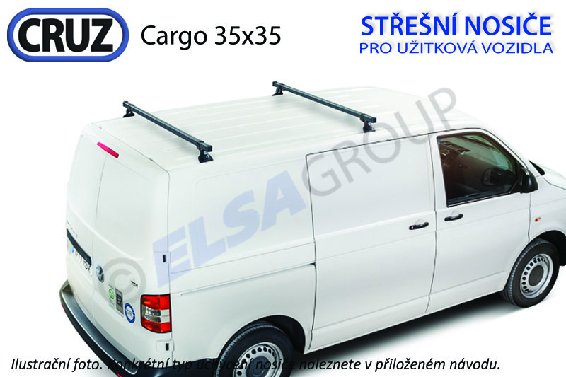 Strešný nosič Renault master 10-, cruz cargo xpro