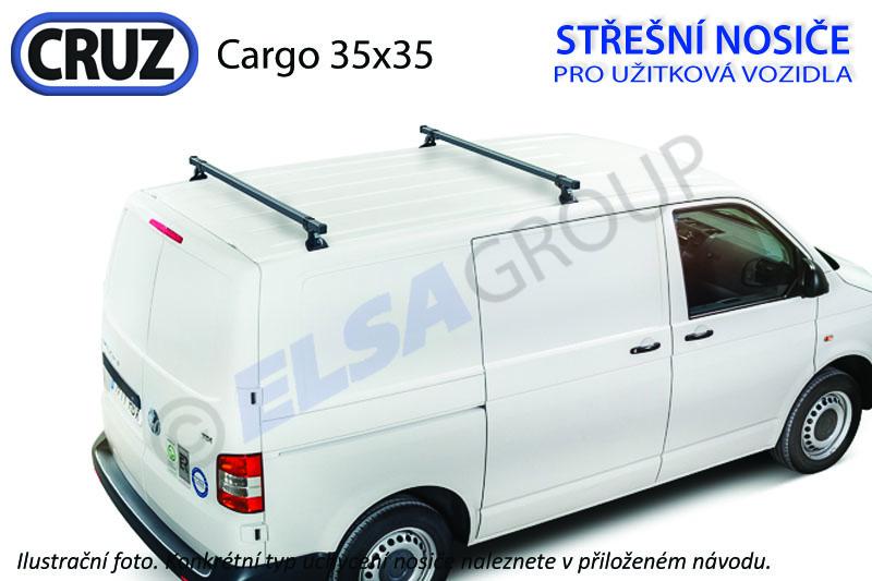 Strešný nosič VW Transporter t5/t6 / multivan, cruz cargo (2 príčníky 35x35)