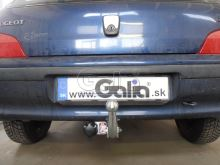 Tažné zařízení Citroen Saxo / Peugeot 106, 1995 - 2003