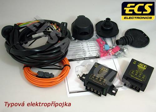 Typová elektropřípojka Peugeot Boxer skříň 2011-, 7pin, ECS