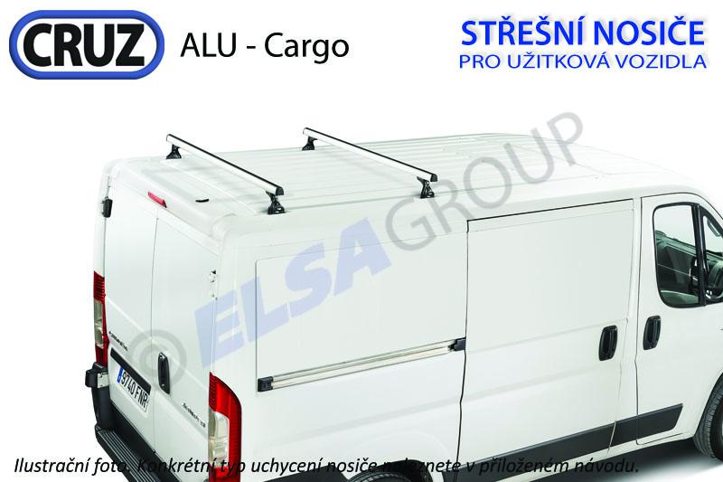 Strešný nosič Ford transit courier / tourneo courier (2 príčníky), cruz alu cargo