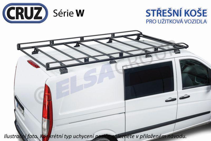 Střešní koš VW Transporter T5/T6 (L1H1) / Multivan s T-drážkou, CRUZ W