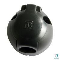 Zásuvka 7pin (DIN) IP44 kruhová, Erich Jaeger