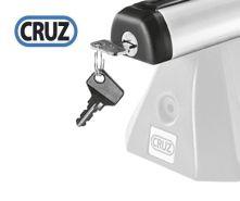 Sada zámků CRUZ 4ks pro tyče ALU (45x30 / 012-162)