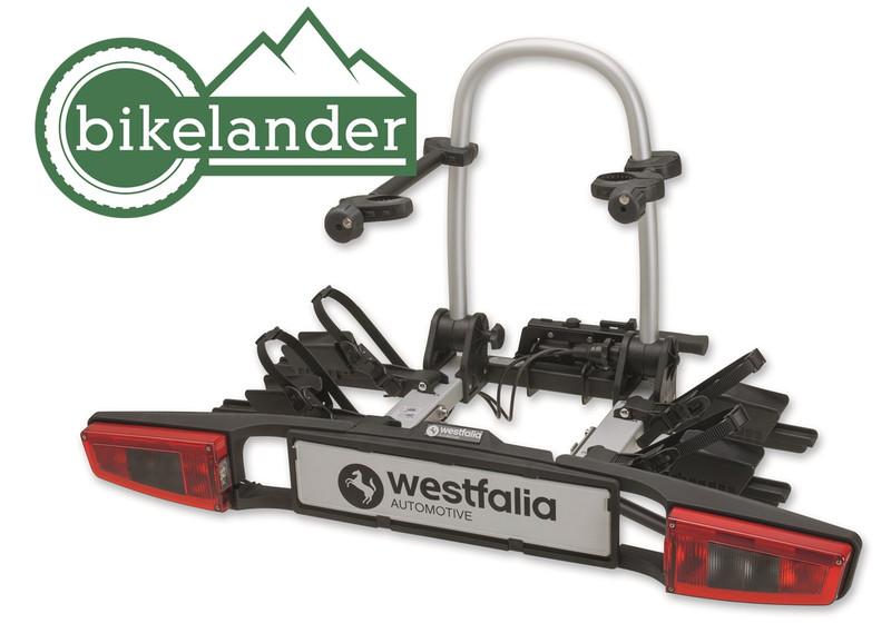 Nosič kol WESTFALIA Bikelander BC80 LED - 2 kola, na tažné zařízení