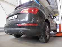 Tažné zařízení Audi Q5 2008- , odnímatelný bajonet, Galia