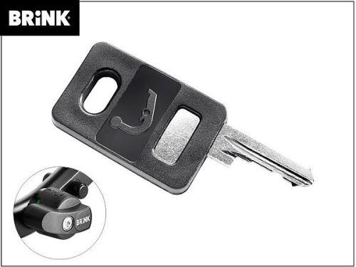 Náhradní klíč pro čep Brinkmatic BMA - číslo vyraženo na zámku