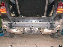 Tažné zařízení Mercedes Benz M (ML) 2011- (W166) , pevný čep 2 šrouby, BRINK
