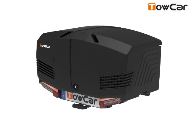 Towcar towbox v3 čierný, perforovaný, na ťažné zariadenie